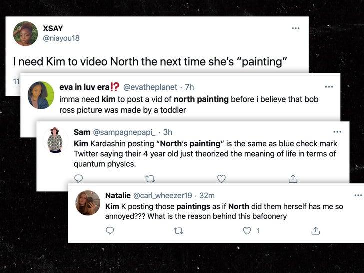 North West Painting Tweets