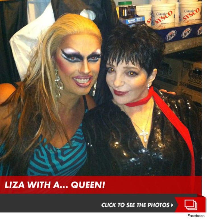 Liza Minnelli -- Fire Island is a Total DRAG!