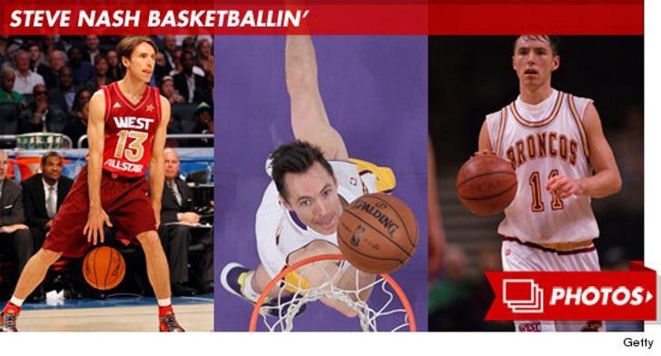 Steve Nash Basketballin'