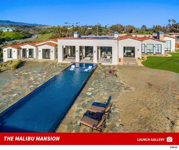 Drake and Rihanna's Malibu Airbnb