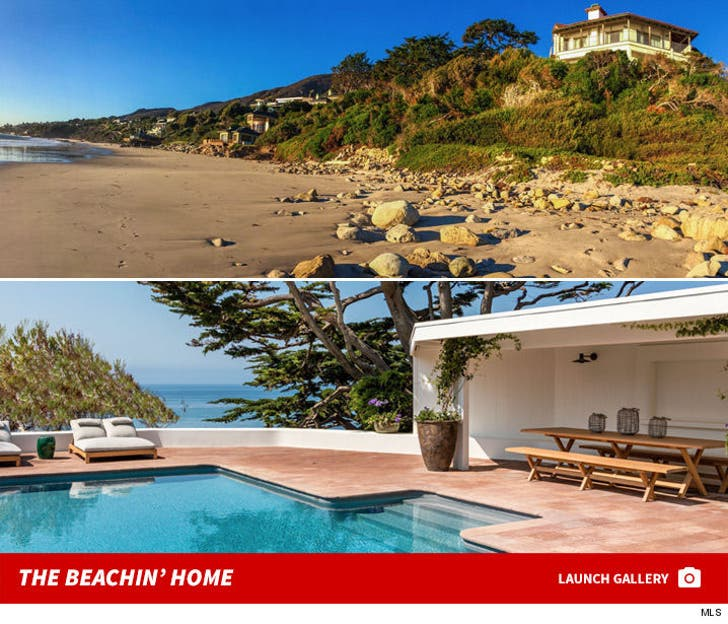 Cindy Crawford and Rande Gerber -- Malibu House For Sale