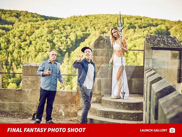 Alexis Ren's Final Fantasy Photo shoot