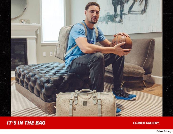 a0c404a22c99 Klay Thompson is Launching Baller Designer Bag Line