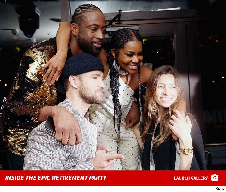 Inside Dwyane Wade's Retirement Party
