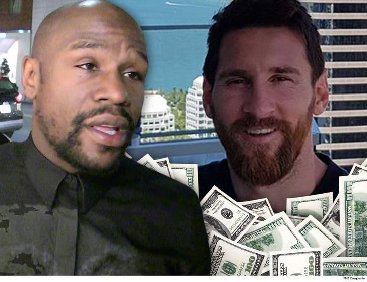 Floyd Mayweather Drops Off Forbes List Lionel Messi Takes Top Spot