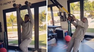 Kevin Hart Shows Off New Workout Routine Post-Car Accident