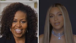 Beyonce Presented with BET Humanitarian Award by Michelle Obama