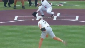 Peyton Manning Bungles 1st Pitch At MLB All-Star Game, What Was That?!