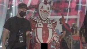 'The Masked Singer' Jester Costume Bulge Too Hot for TV