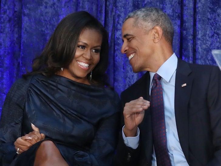 Barack Obama and Michelle Obama -- Together Pics