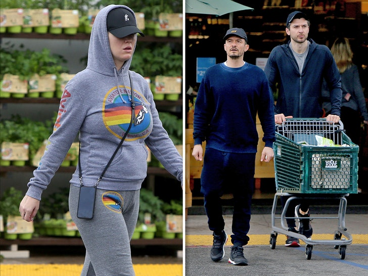 Katy Perry Baby Bumpin' During Grocery Run with Orlando Bloom - EpicNews