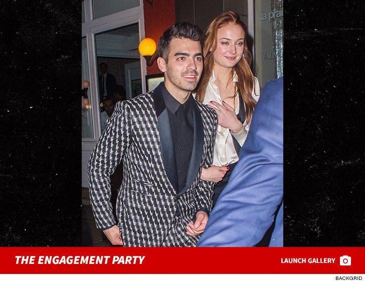 Joe Jonas and Sophie Turner Engagement Party