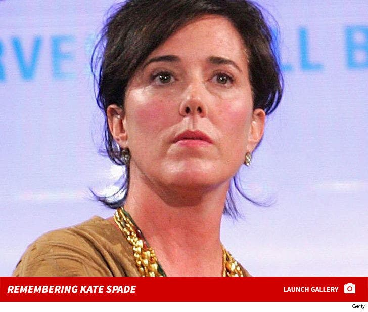 Fashion Designer Kate Spade Dead At 55 Suicide By Hanging Coroner Removes Body
