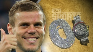 Russia's Biggest Soccer Star Goes On Diamond Spree Before World Cup
