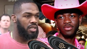 Jon Jones Raises Hell Over Lil Nas X Satan Shoes, They're 'Bulls***'
