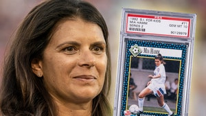 Soccer Legend Mia Hamm's Rookie Card Sells For $34,440, Most Expensive Female Card Ever!