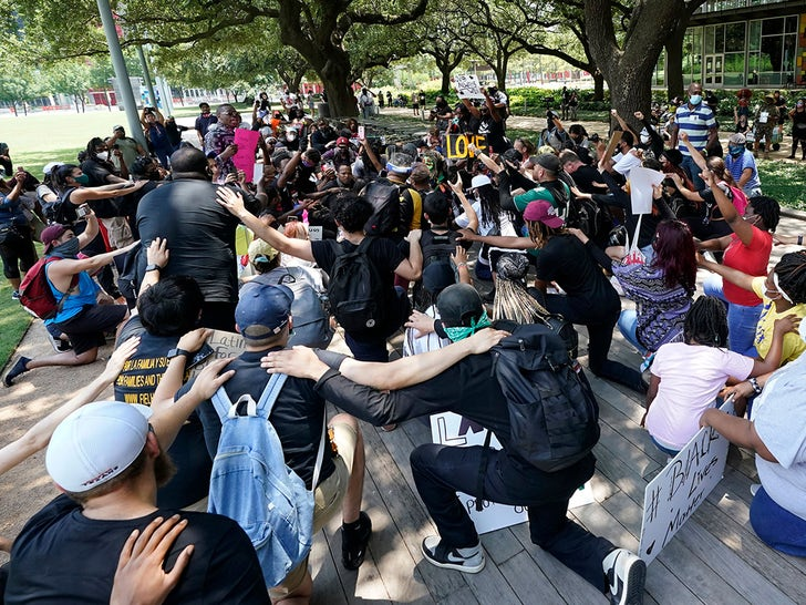 BLM Protest In Houston
