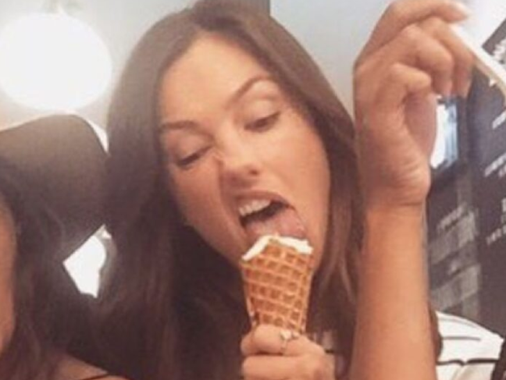Celebs Eating Ice Cream