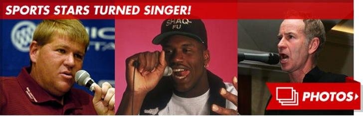 Sports Stars Turned Singer
