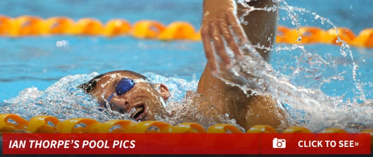 Ian Thorpe Swimming Photos