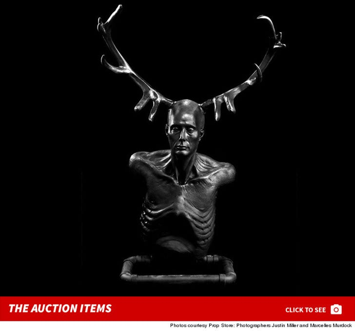 'Hannibal' Show -- The Auction Items