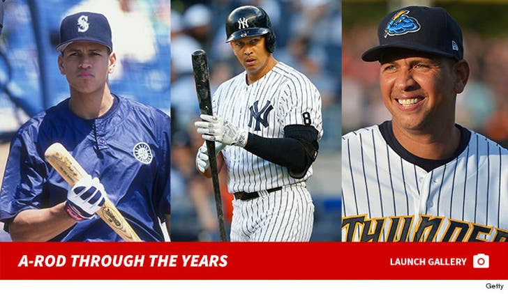 Alex Rodriguez Through The Years