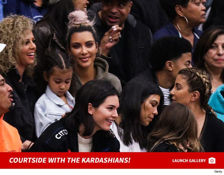 Kardashian's Courtside Game
