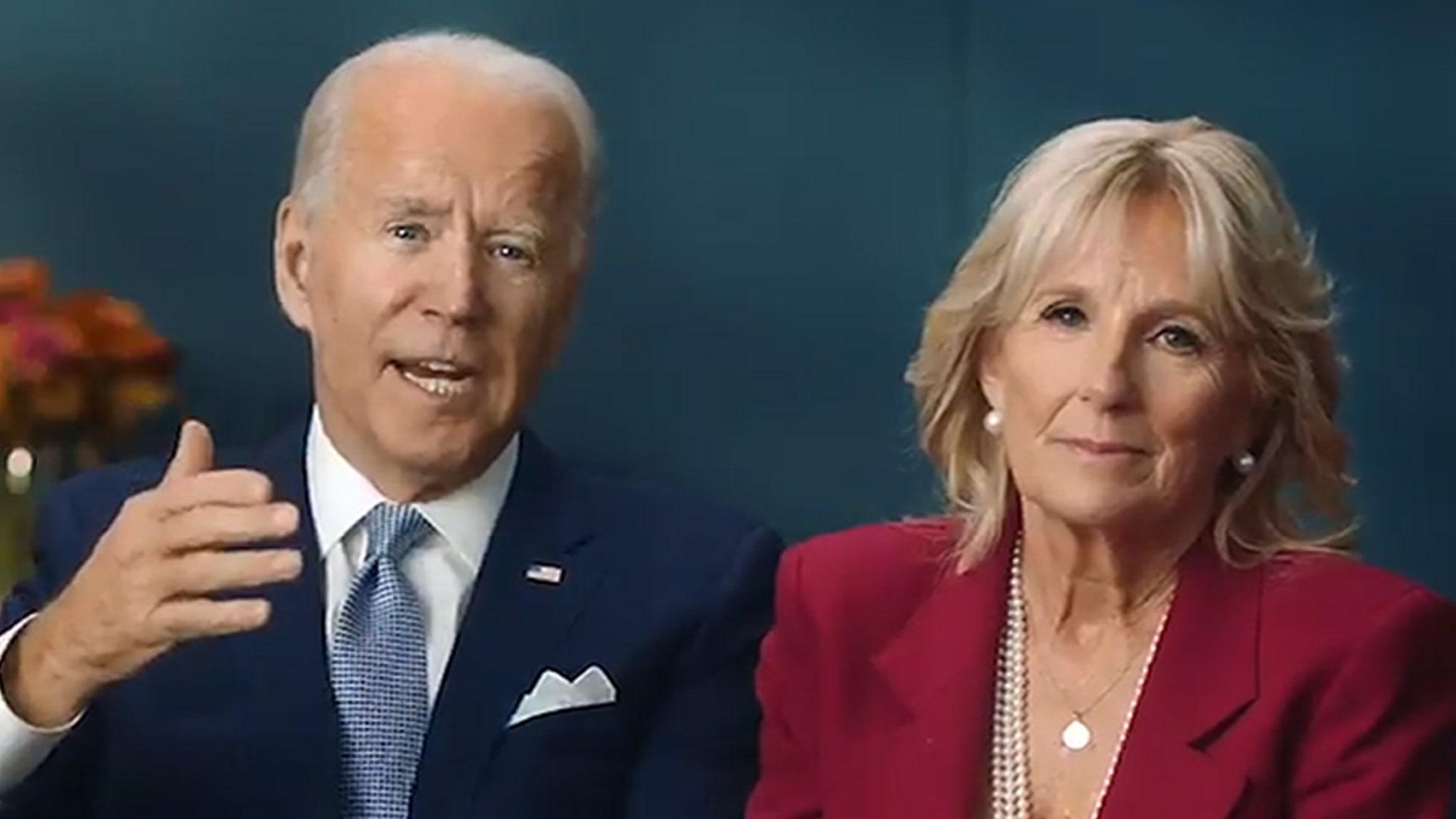 Joe and Jill Biden Thanksgiving Day Message Better Days Ahead
