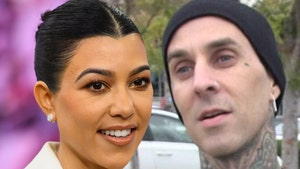 Travis Barker Gives Girlfriend Kourtney Kardashian Floral Birthday Gift