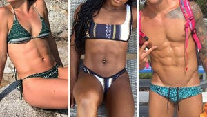 USA Olympic Athlete Abs -- Guess Who!
