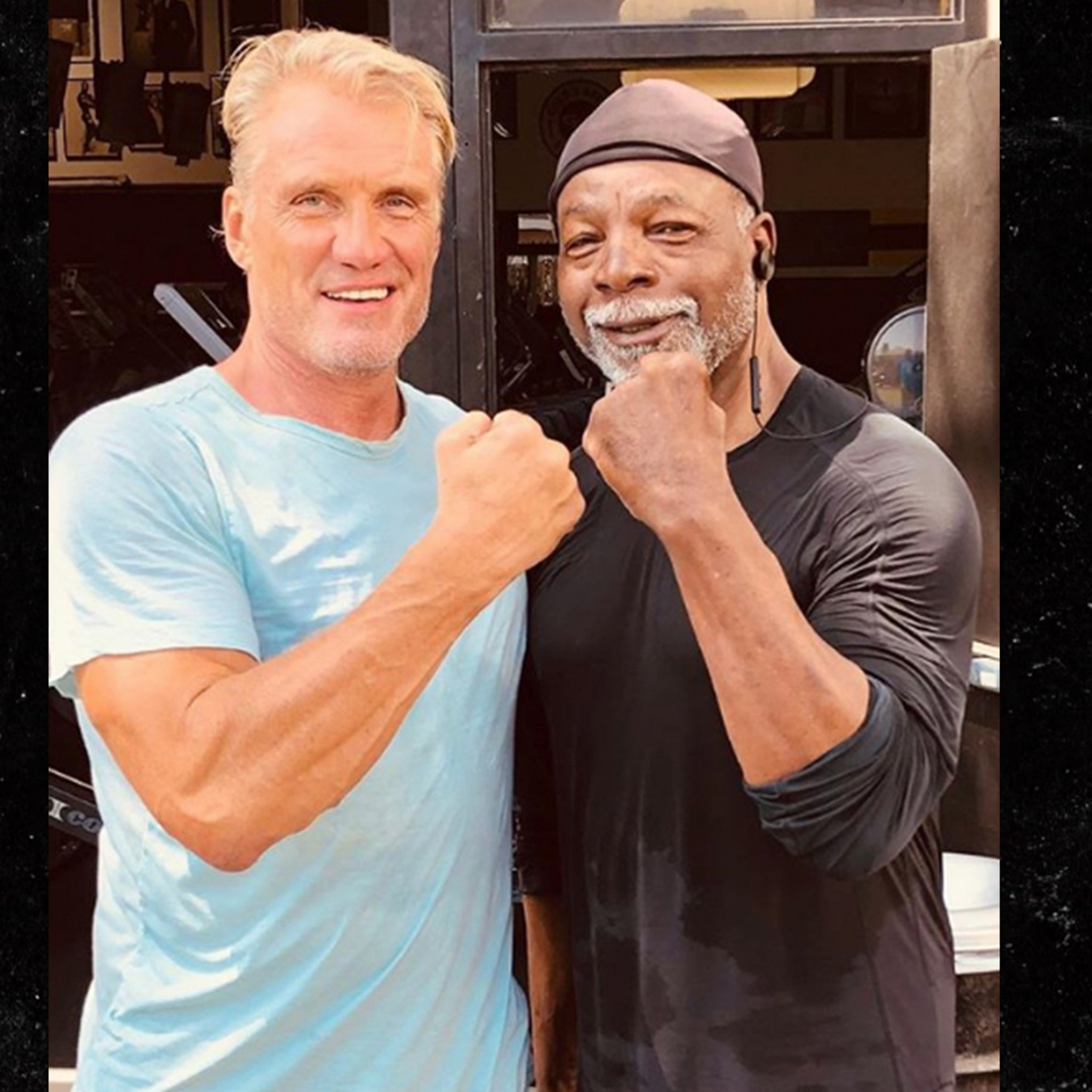 Ivan Drago and Apollo Creed, Rematch at Venice Beach!