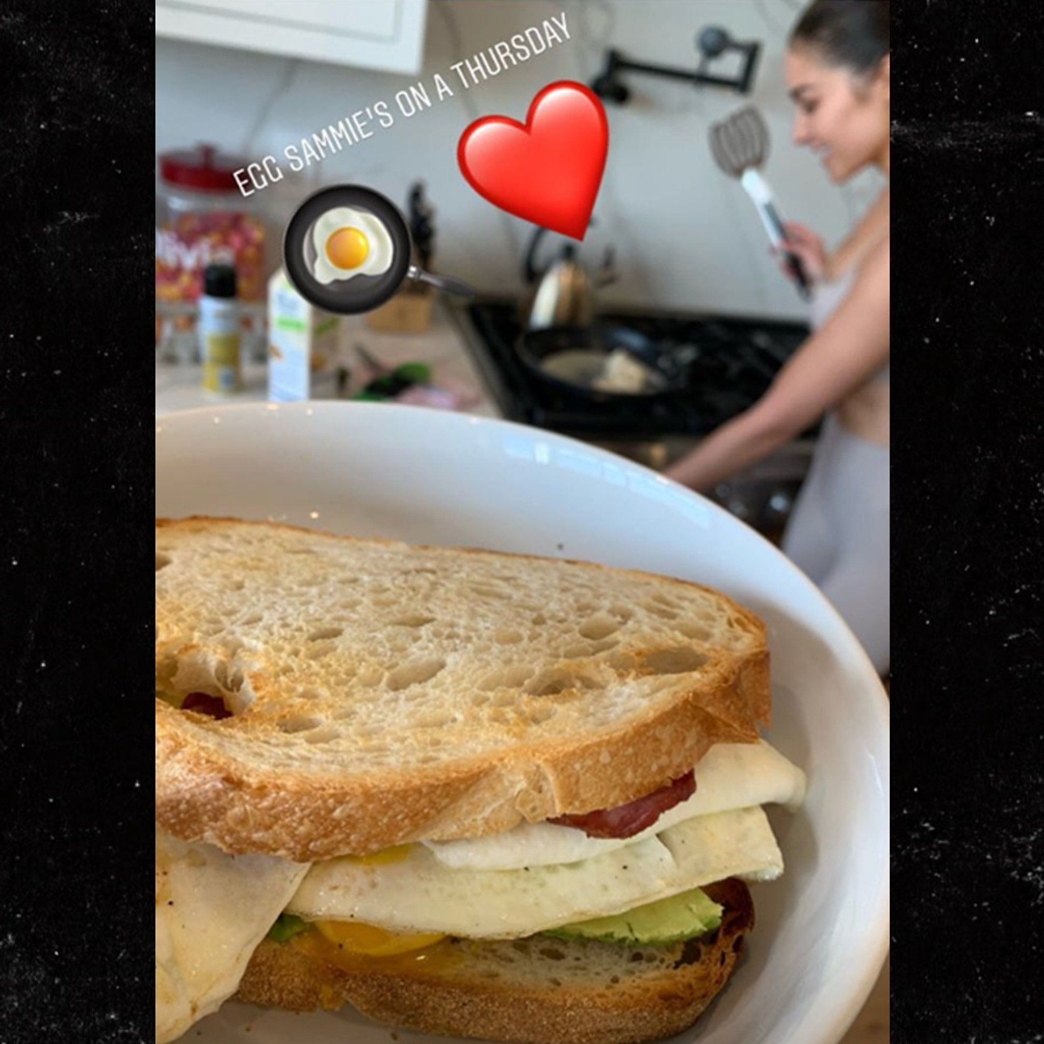 Olivia Culpo Cooks Breakfast for Christian McCaffrey as Relationship Heats Up