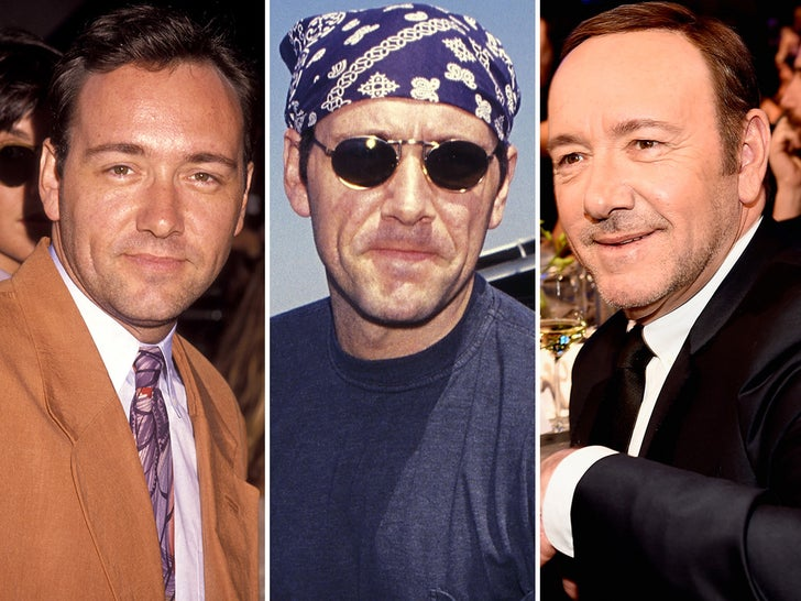 Kevin Spacey Through the Years
