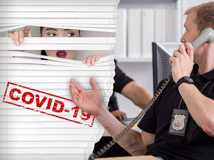 Paranoid Calls to Police Increase with Coronavirus, Snitching Too - EpicNews