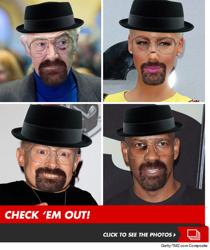 Stars 'Breaking Bad' -- Fresh Batch of Heisenbergs