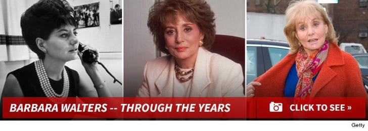 Barbara Walters -- Through the Years!