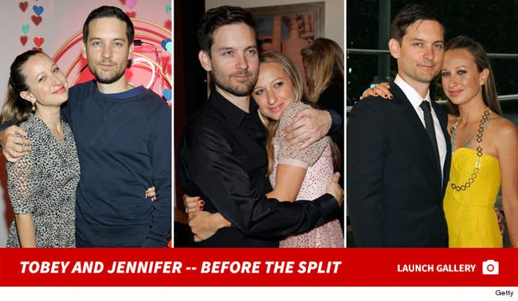 Tobey Maguire and Jennifer Meyer -- Before the Split