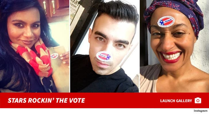 Stars Rockin' the Vote -- Election Day 2016
