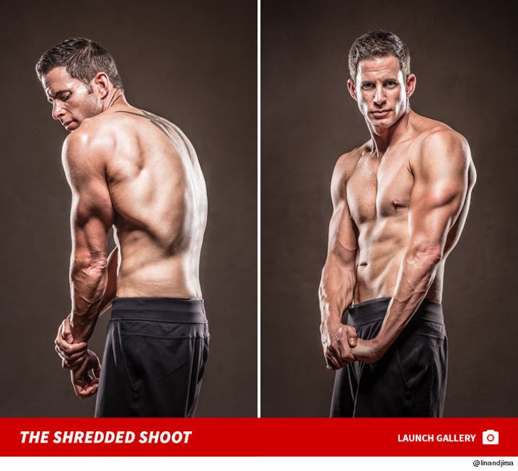 Tarek El Moussa -- The Shredded Shoot