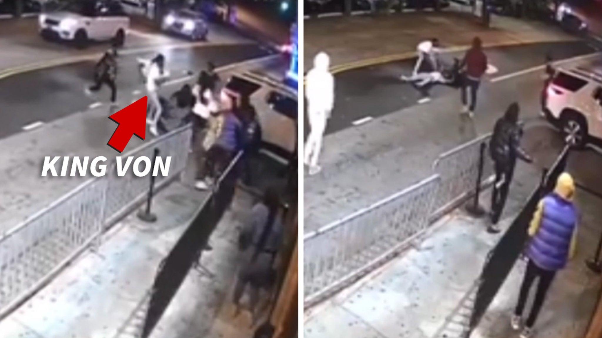 Rapper King Von Killed In Atlanta Shooting ... Video Surfaces