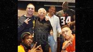 Robert Kraft and Michael Rubin Host Sports, Music All-Stars in Super Bowl Suite
