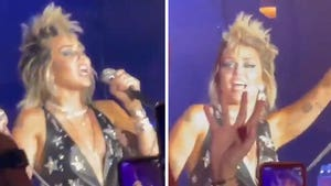 Miley Cyrus Cries Out 'Free Britney' During Vegas Concert