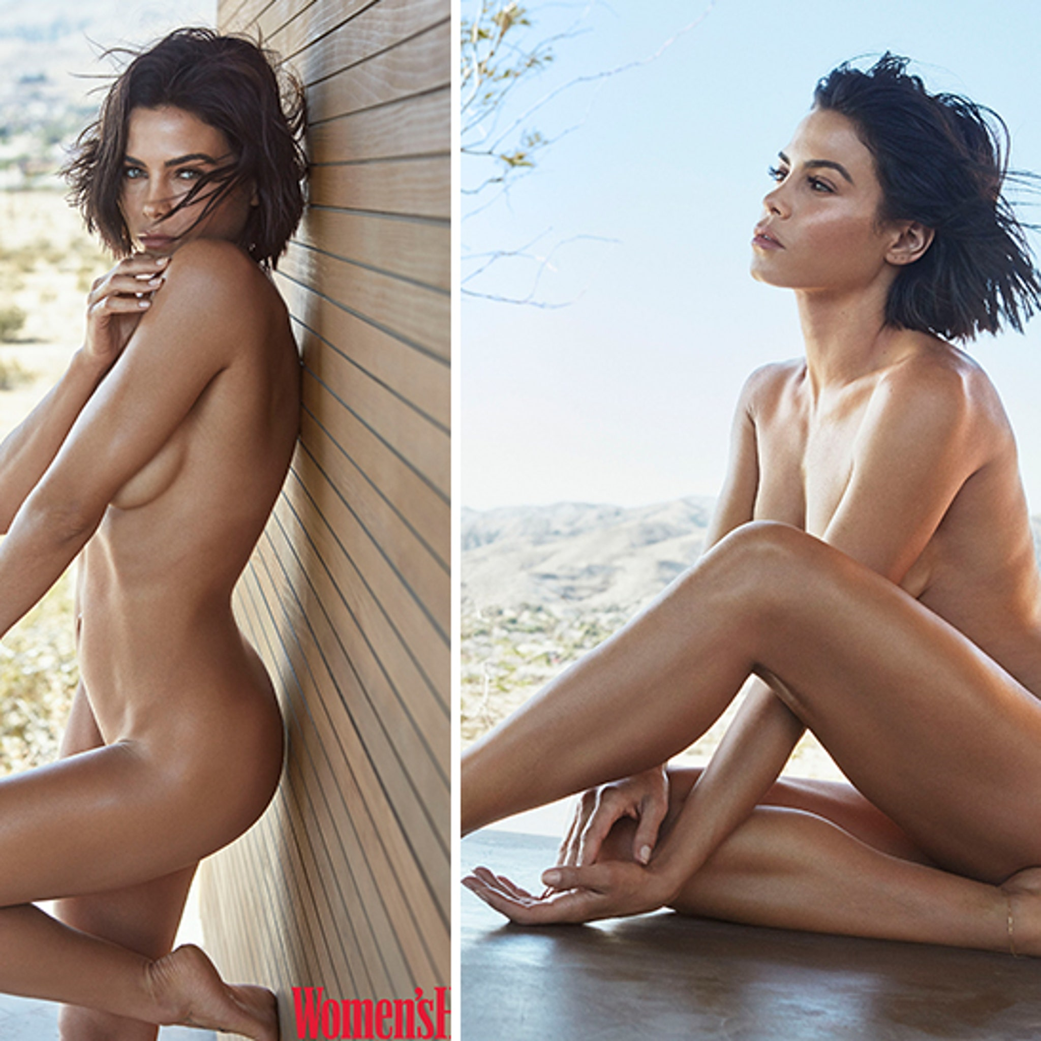 Jenna Dewan Goes Fully Nude for Women's Health