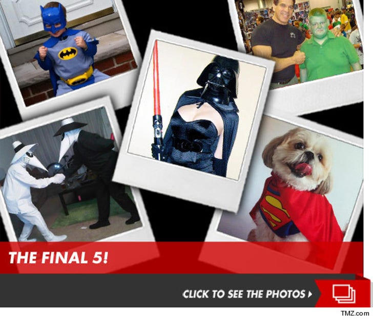 TMZ's Annual Comic-Contest -- Geek Out!