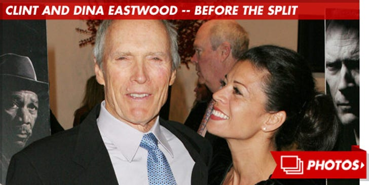 Clint and Dina Eastwood -- Before the Split