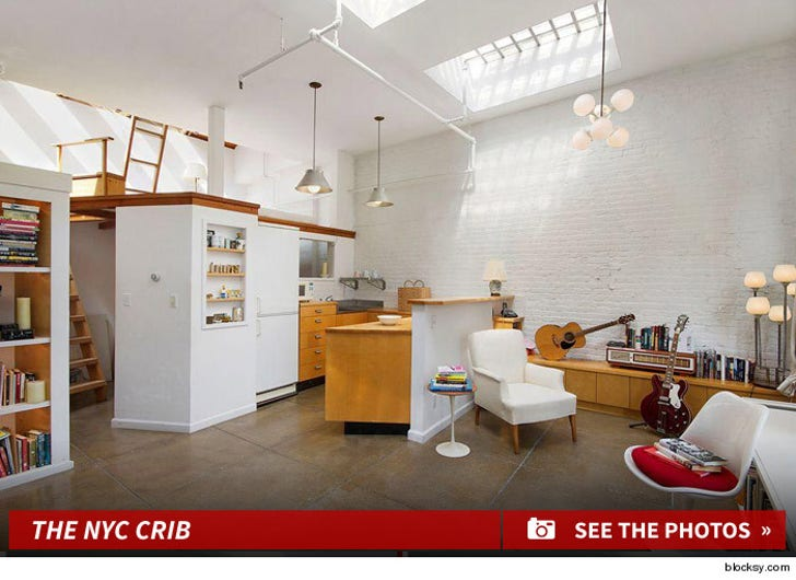 Moby's Manhattan Home