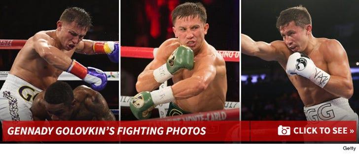 Gennady Golovkin's Fighting Photos