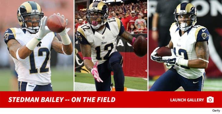 Stedman Bailey -- On the Field