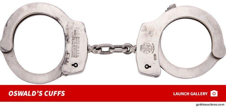 JFK's Assassin Lee Harvey Oswald's Handcuffs