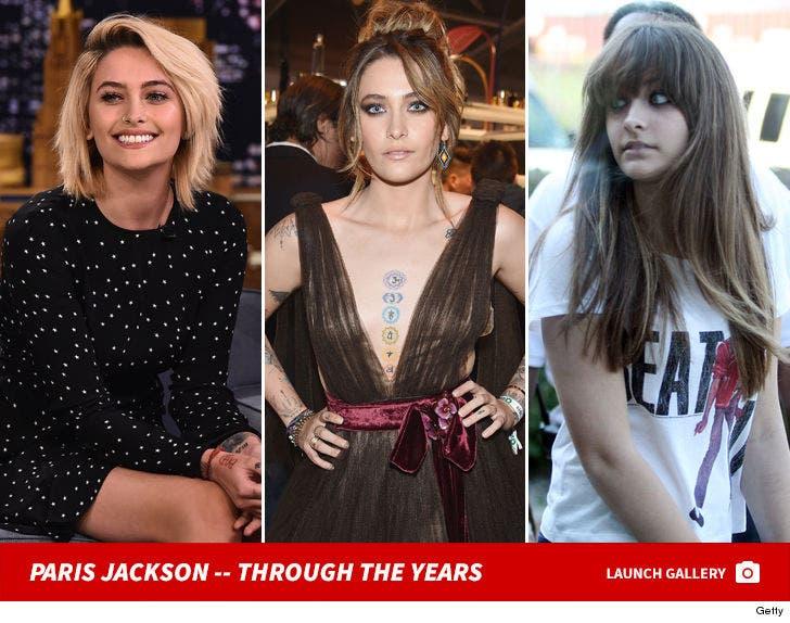 Paris Jackson -- Through The Years